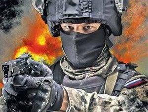Antiterror - fait à la main