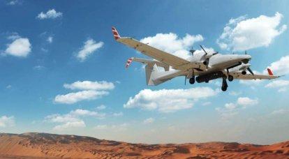 UAV israelí interceptado en los cielos sobre el Líbano