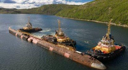 """İlk Sovyet nükleer denizaltısı K-3 """"Leninsky Komsomol"""" Kronstadt'a transfer edilecek"""