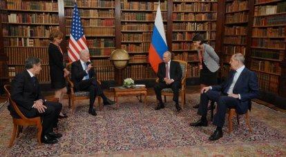 Il giornalista ha illustrato l'incontro di Putin e Biden con filmati con Panikovsky e Balaganov dal Golden Calf