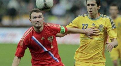 콜로라도 바퀴벌레의 노트. 바보의 일치 러시아 - 우크라이나 : 1-1