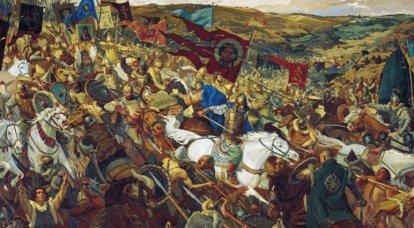 Kulikovo 전투에서 러시아 연대의 승리의 날