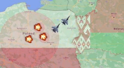 Victory will be in Minsk: the USA clearly showed the scenario of the war between Poland and Belarus