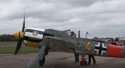 «Je l'ai attaqué à 50 mètres»: d'après les mémoires d'un pilote soviétique sur le chasseur Focke-Wulf abattu