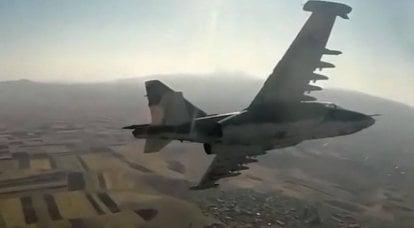 A trégua continua: Azerbaijão anuncia mais um tiro para baixo do Su-25 da Força Aérea Armênia
