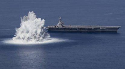 1987年以来初めて、米国は空母の衝撃試験を実施しました