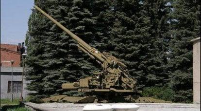 最新苏联高射炮口径152mm  -  KM-52 /КС-52