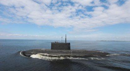 A USC anunciou o momento de lançamento do submarino Magadan diesel-elétrico para a Frota do Pacífico