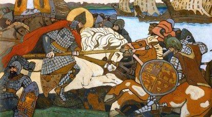 """""""Dio non è in forza, ma in verità!"""" Come Alexander Yaroslavich sconfisse i crociati svedesi"""