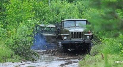 军事试驾:退役的乌拉尔和卡玛斯卡车能够做什么?