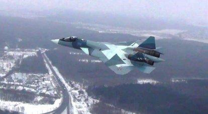 No 2018, o VKS começará o desenvolvimento do mais recente Su-57