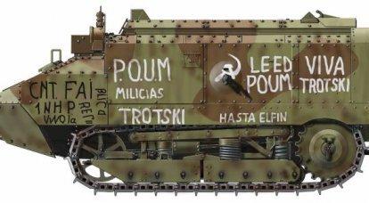 Guerra Civil Espanhola: cavalaria e tanques