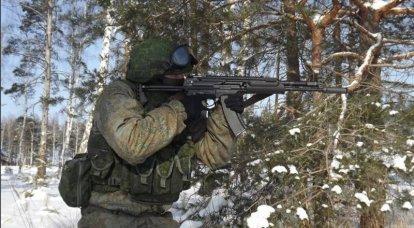 O que a metralhadora A-545 é superior à Izhevsk AK-12