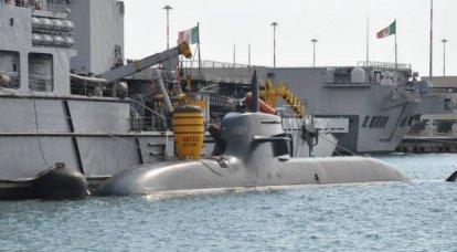 Itália, Alemanha e Noruega decidiram construir novos submarinos U212NFS, Tipo 212