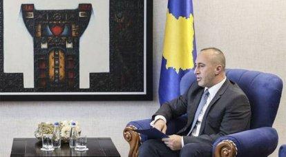 """कोसोवो """"प्रधान मंत्री"""" हरादिनाई: मैं बेलग्रेड से कोसोवो की स्वतंत्रता की मान्यता मांगूंगा"""