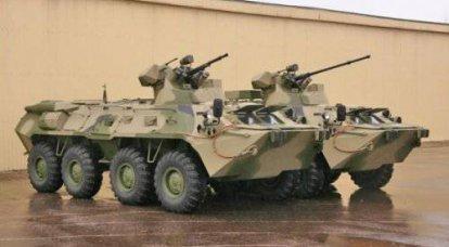 ロシアのBTR-82-「XNUMX年代」の深い近代化