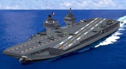 Programme PANG: la France va construire un nouveau porte-avions