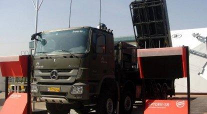 """Çek Cumhuriyeti, Sovyet hava savunma sistemleri """"Cub"""" 'ı İsrail hava savunma sistemleri Spyder ile değiştirecek"""