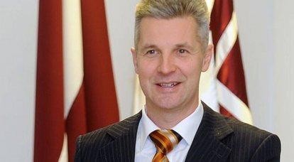 ラトビア国防相ArtisPabriksは、ロシアに対するNATOの計画について話しました