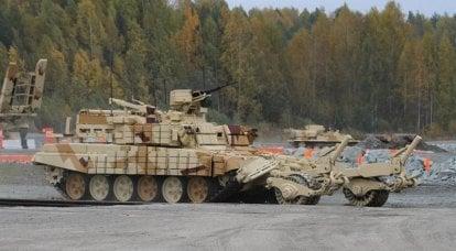 """装甲排雷机BMR-3MA""""Vepr""""。 工程部队的突破"""