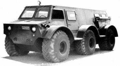 Veicolo fuoristrada esperto ZIL-136