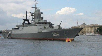 サンクトペテルブルクのネイビーサロンでの未来の船