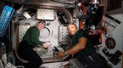 Bilim adamları, ISS'deki Amerikan astronotlarındaki baş ağrısının nedenini buluyor
