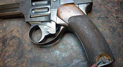 """Falha em ziguezague: revólver automático """"Vebley-Fosbury"""" e outros com ele"""