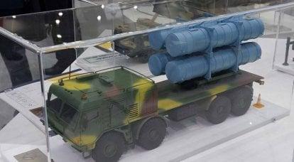 """Ucrania """"trasplanta"""" el sistema de misiles """"Neptuno"""" del """"KrAZ"""" doméstico al """"Tatra"""" checo"""