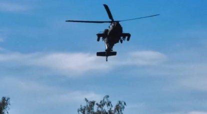 Les États-Unis ont déployé neuf hélicoptères de combat en Lituanie