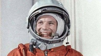 1961的宇宙胜利。 什么会阻止Yuri Gagarin今天大笑?