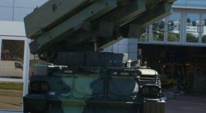 """捷克防空系统"""" Cub""""装有导弹Aspide 2000"""