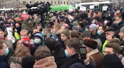 Mídia chinesa: A oposição liberal da Rússia mostra fracasso e dependência