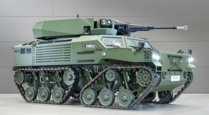 A new GSD LuWa airborne tankette has been developed for the German airborne troops
