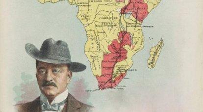"""Cecil Rhodes. """"Napoleão da África do Sul"""""""