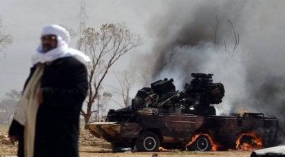 "Libye: Opération Odyssée. Dawn ""tend à se coucher"
