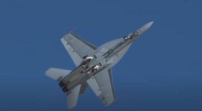 Caça F-18 Super Hornet da Marinha dos EUA cai na Califórnia
