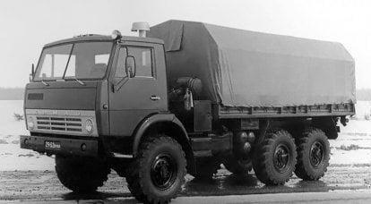 战术三轴车。 KamAZ-4310的诞生历史
