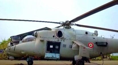 Hindistan, Mi-35 helikopterlerini 10 km'den fazla hedef menzili olan bir tanksavar füzesi ile silahlandıracak