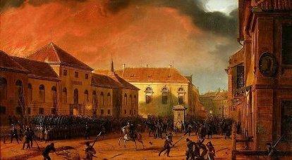 1830-1831 년 폴란드에서 봉기 한 이유