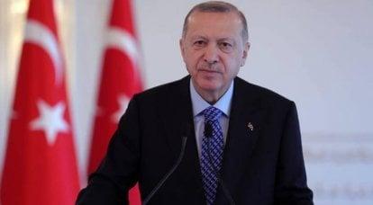 Erdogan anunciou a usurpação francesa na soberania do Azerbaijão