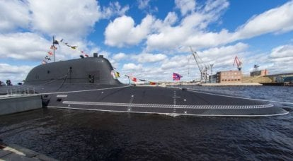 """Nuclear submarine """"Novosibirsk"""" and the prospects of the series """"Ash-M"""""""