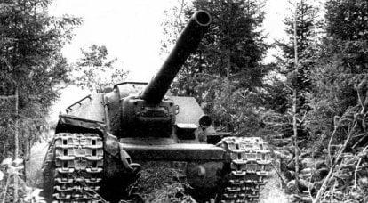 소련 자주포 시스템 SU-152 및 ISU-152의 대전차 방지 기능