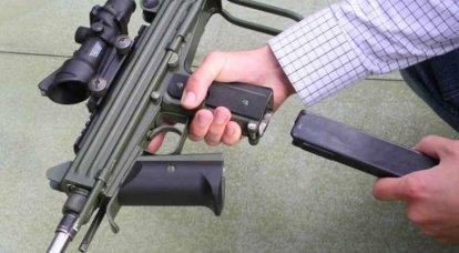 一种新的冲锋枪很难想出来。 瑞典人与新加坡人