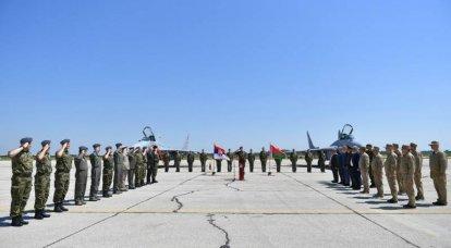 सर्बिया ने आधिकारिक तौर पर बेलारूस द्वारा वायु सेना में स्थानांतरित किए गए मिग -29 लड़ाकू विमानों की शुरुआत की