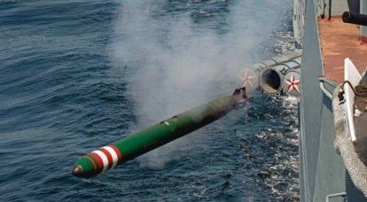 새로운 러시아 어뢰 유도 시스템이 자격 테스트를 통과했습니다.