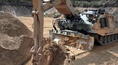 创造战斗空间:21世纪军事工程车辆