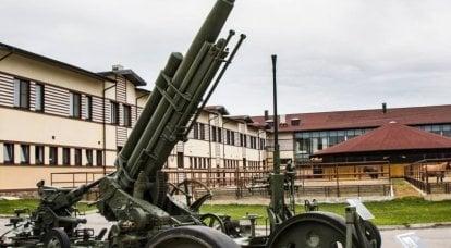关于武器的故事。 高射炮3-K:德国化俄罗斯德国人