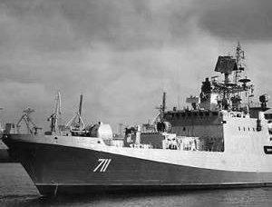 ロシア海軍「Gorshkov提督」のヘッドフリゲート艦が発足