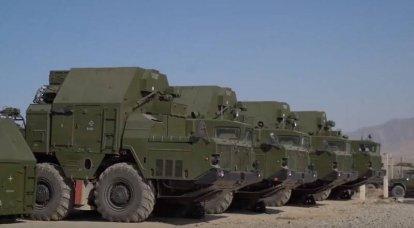 Sistema de defesa antimísseis S-300PS se prepara para assumir o serviço de combate no Tajiquistão